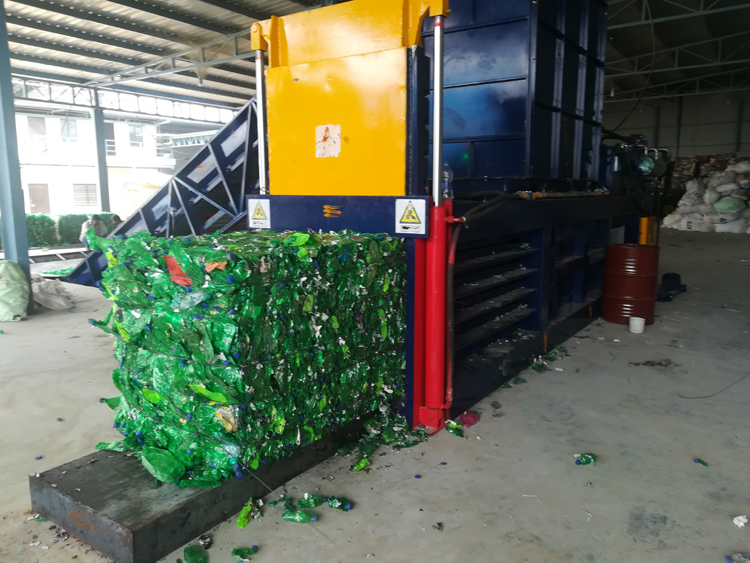 NKW200BD Scrap PET Bottle Hydraulic Balers