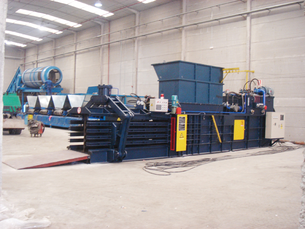 Introduction Of  waste paper baler